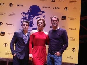 Jarbas Homem de Mello , Claudia Raia e Marcello Antony