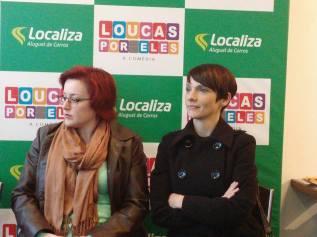 Fafá Rennó e Cynthia Falabella