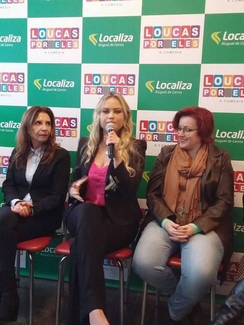 Vera Mancini, Ellen Rocche e Fafá Rennó