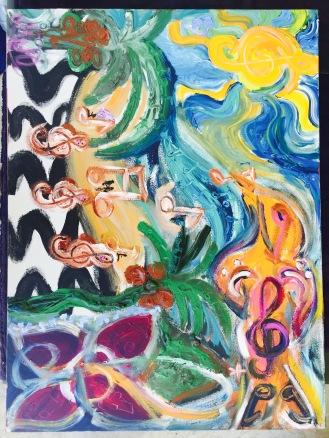 Obra que Marie levará à mostra Arte em Claves de Sol (2)