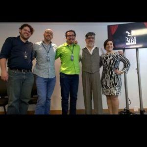 Equipe Criativa e Mestres de Cerimônia. Foto Rosa Borges